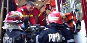 Doi răniţi şi trei maşini avariate la Piteşti
