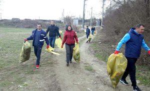O nouă acţiune de ecologizare la Mioveni