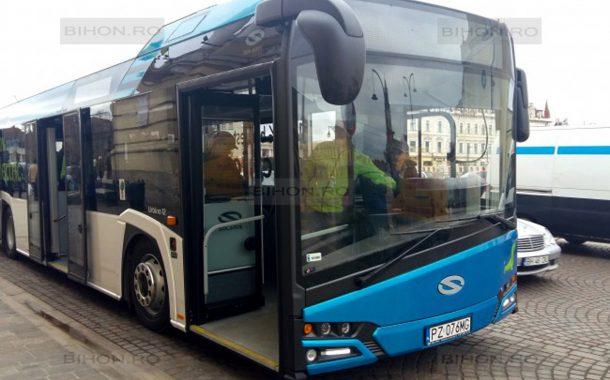 Autobuz electric în teste la Piteşti