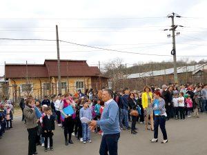 Simulare de incendiu la Şcoala din Bascov
