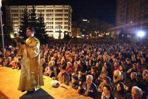 Ortodocşi şi catolici au cântat: