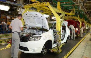 Argeşul, dependent de industria auto