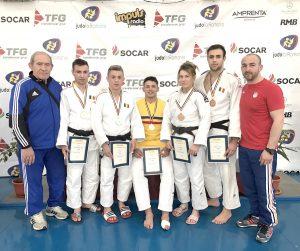 Campioni de judo la Severin