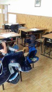 """Simulare de cutremur la Şcoala """"M. Eminescu"""" din Bradu"""