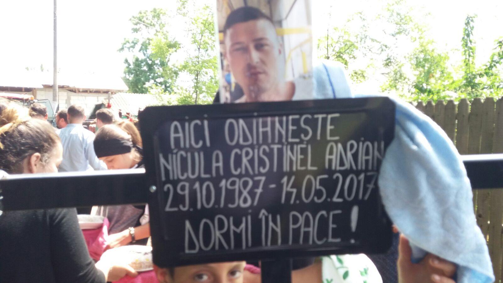 Tânărul ucis în Germania a fost înmormântat