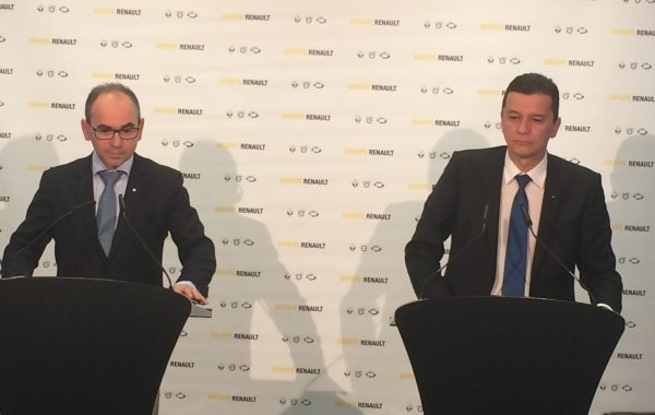Grindeanu, la Mioveni. Memorandum pentru susţinerea Grupului Dacia Renault