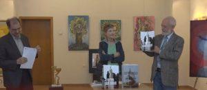 Două albume de artă, lansate de autorul basoreliefului de la Mausoleul Mateiaş