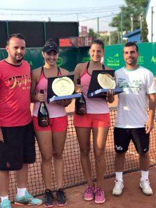 O piteşteancă, câştigătoare la dublu a Turneului de tenis de la Curtea de Argeş