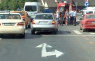 Şoferiţa fugară a fost prinsă de poliţişti