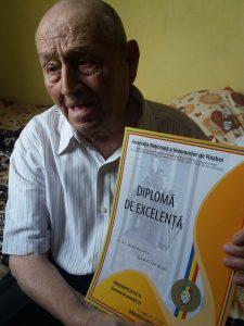 Cel mai în vârstă veteran de război din Argeş a împlinit 105 ani