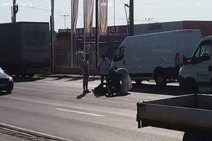 Motociclist accidentat grav la Bascov