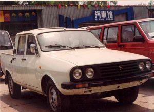 În anii '90, chinezii copiau Daciile camionetă