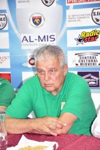Florin Marin nu mai este antrenorul echipei CS Mioveni