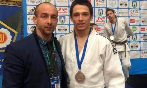 Eduard Şerban, la mondialele de judo cadeţi