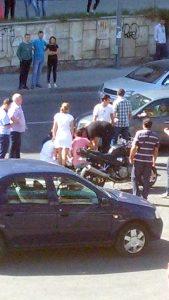 Motociclist accidentat pe Craiovei