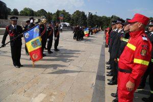 ISU Argeş a primit Drapelul de Luptă