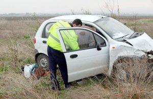 Familie rănită în accident la Schitu Goleşti