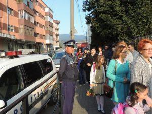 Poliţiştii au supravegheat şcolile din judeţ