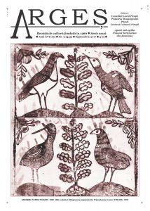 """A apărut  Revista """"Argeş"""" nr. 9, editată de Centrul Cultural Piteşti"""