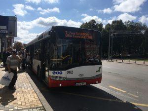 Programul autobuzelor în ziua de Florii