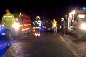 Accident cu cinci răniţi la Albota