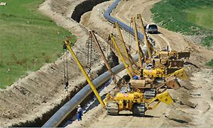 Un gazoduct prin Argeş