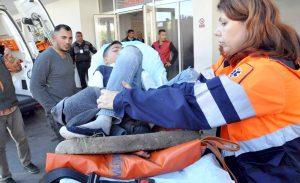 Elev rănit grav în curtea şcolii
