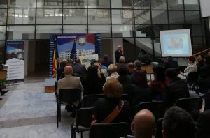 Fostul rector Gheorghe Barbu, sărbătorit la Universitate