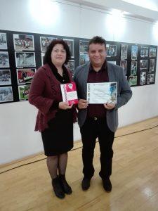 Sorin Mazilescu a adus în Argeş trofeul festivalului naţional de film etnografic