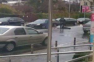 Accidentat de un  şofer neatent