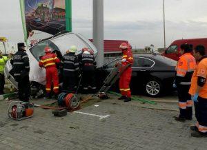 Bucureşteancă moartă în accident pe autostradă