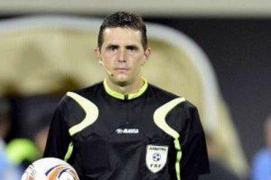 Arbitrul Cătălin Botaş, eroul negativ al meciului FC Argeş-CS Afumaţi