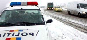 Sute de poliţişti vor fi azi pe şosele