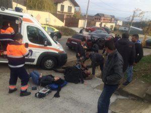 Şase oameni răniţi în accident la Smeura