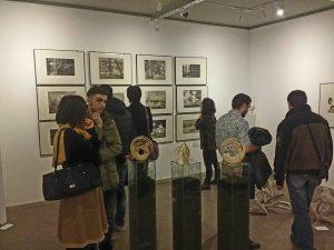 Gravurile şi sculpturile studenţilor, pe simezele Galeriile Ilfoveanu