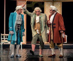 Premieră goldoniană - Bădărănia, pedepsită cu... râsul la teatrul din Piteşti