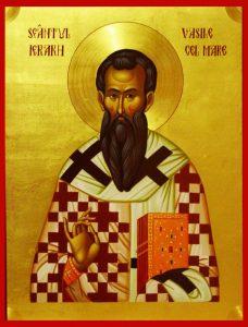 Sfântul Vasile, apărător al dreptei credinţe
