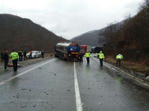 Bulgar rănit în accident la Drăganu
