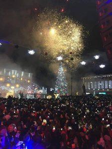 Iluminatul de sărbători, şi în cartiere