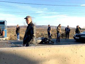 Încă o victimă pe şoseaua morţii. Un motociclist a murit în accident la Mărăcineni!