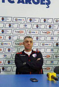Va fi ultimul meci al lui Eduard Augustin, sâmbătă, pe banca lui FC Argeş?