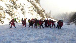 Alpinistul dispărut în Bucegi, căutat şi de salvamontişti argeşeni