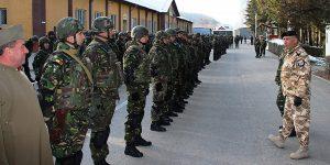 Vânătorii de munte musceleni, evaluaţi pentru Afganistan