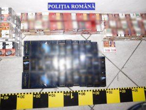 Contrabandişti prinşi la Mioveni