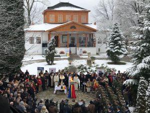 Flacăra Centenarului a fost aprinsă la Muzeul Goleşti