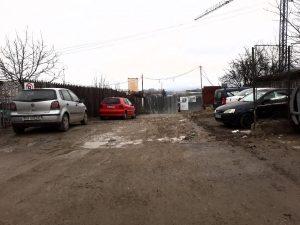 Poliţia Locală a închis intrarea în şantier
