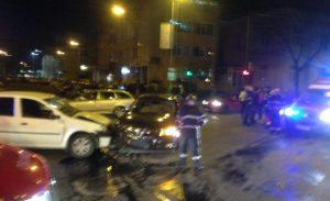 Familie rănită în accident la Piteşti