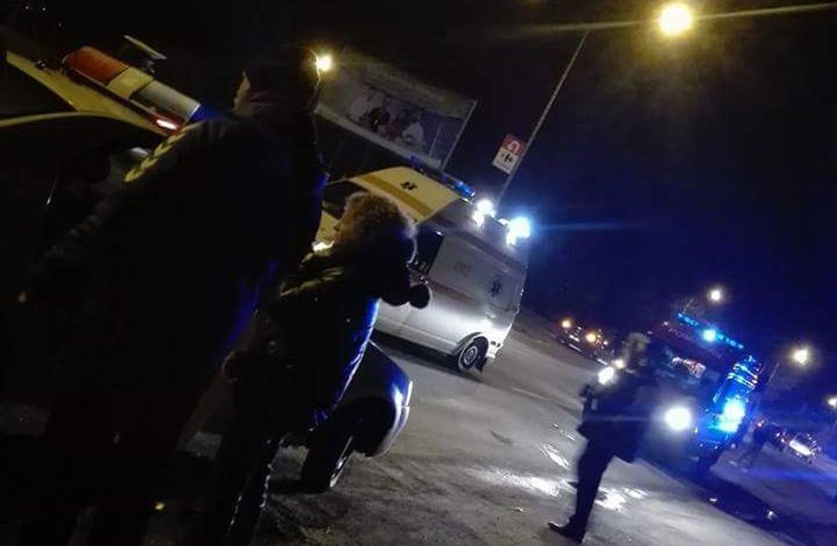 Accidentat de un şofer băut şi fără permis