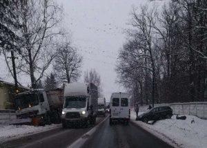 Lupta cu iarna în Argeş