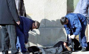 Cadavru mutilat de animale